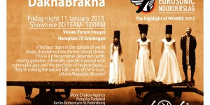 11.01.2013 DakhaBrakha showcase at Eurosonic The Netherlands